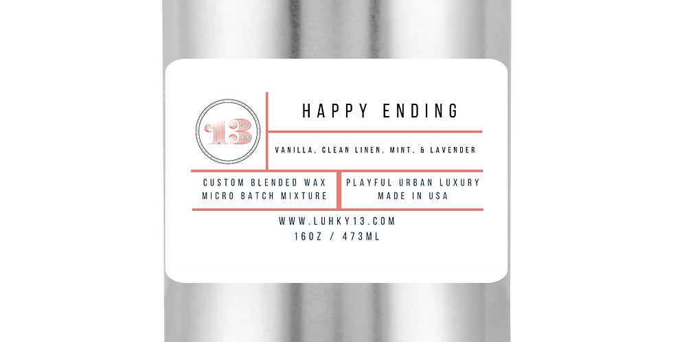 Happy Ending Scented Candle