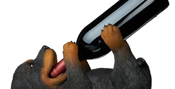 Rottweiler Wine Bottle Holder