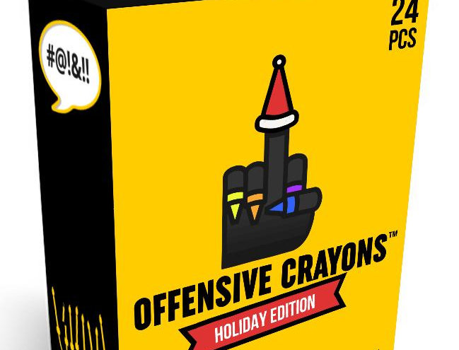Offensive Crayons: Holiday Edition
