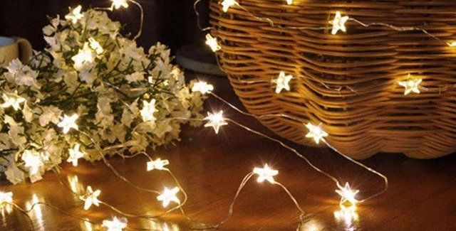 Starry Nights Cozy String Lights