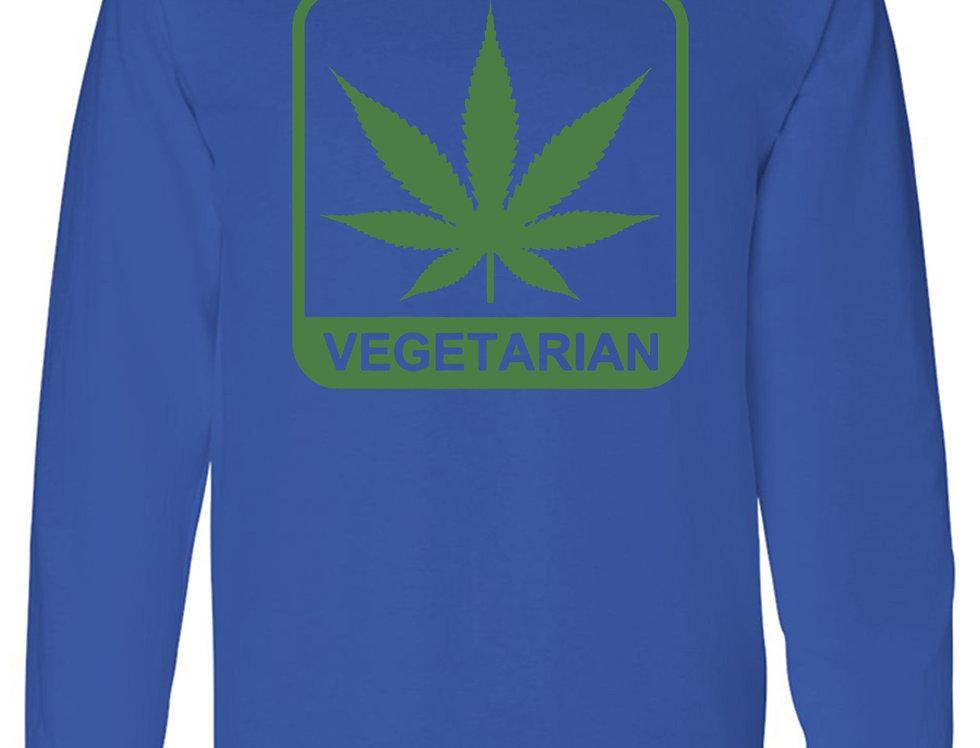 "Men's ""Vegetarian"" Long Sleeve"