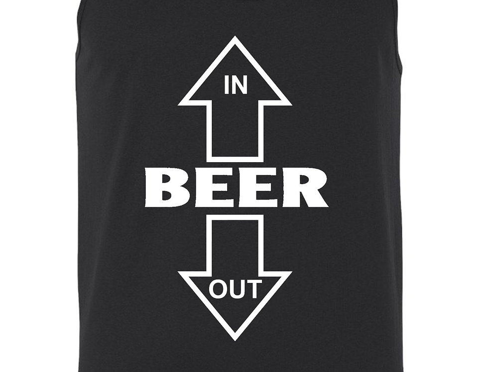 Unisex Beer In/Out Tank