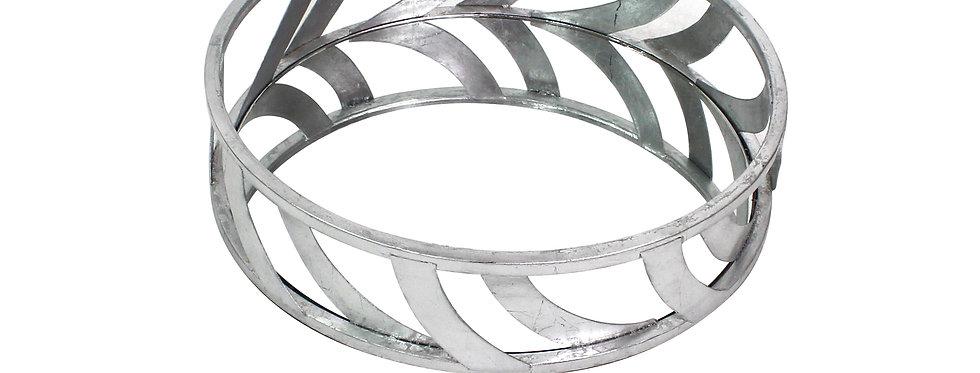 Silver Streamline Mirror Tray