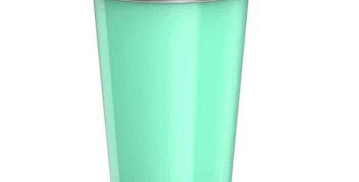 Bevu® FIESTA Steel Cups (2) Mint 470ml / 16oz.