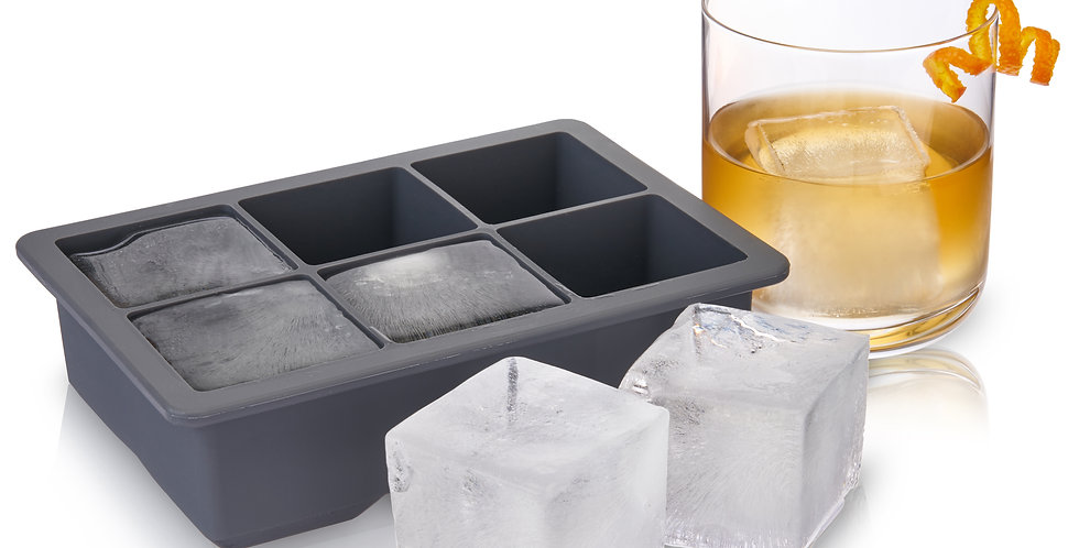 Whiskey Ice Cube Tray with Lid by Viski®
