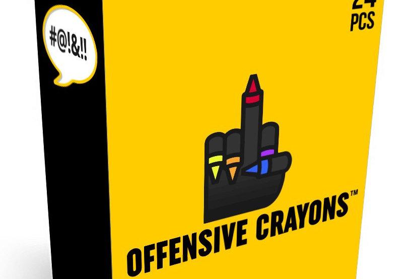 Original Offensive Crayons