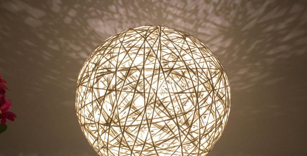 LED Linen Table Lamp