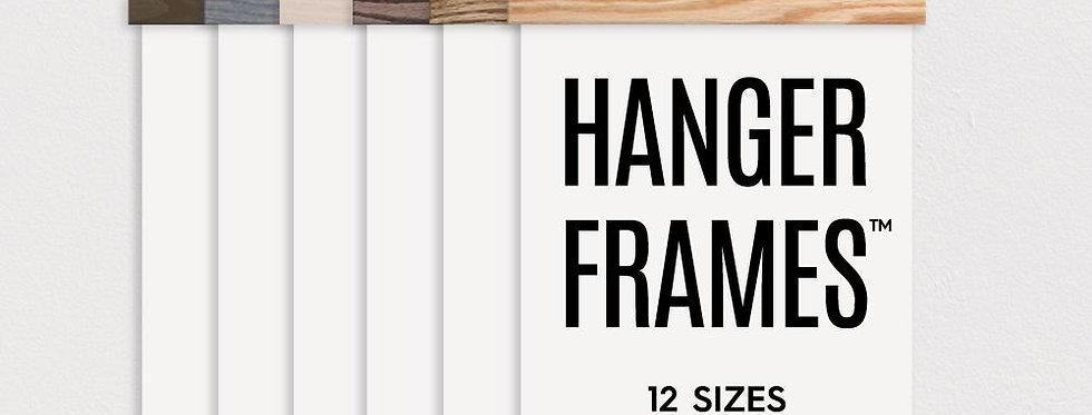 Wooden Magnetic Hanger Frames