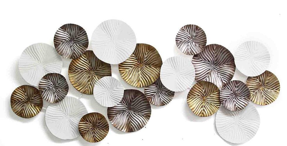 Multi-Color Modern Wall Plate Decor
