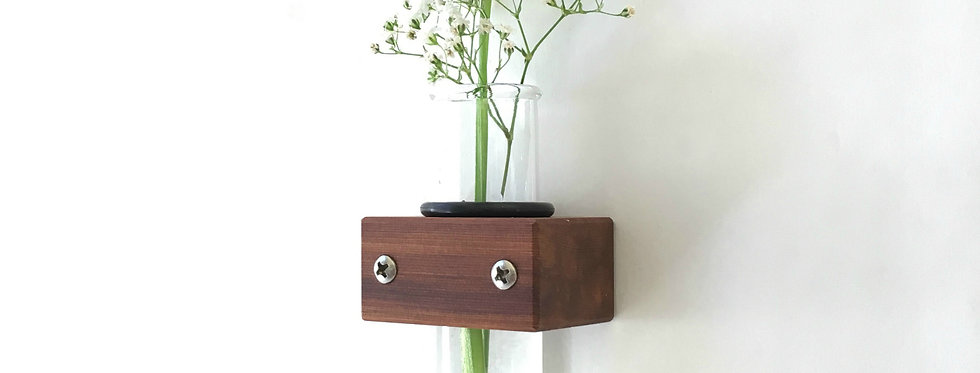 Small Wall Flower Vase