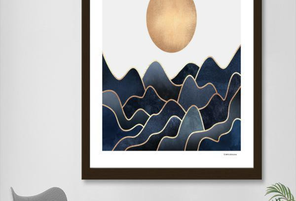 Waves Print & Frame
