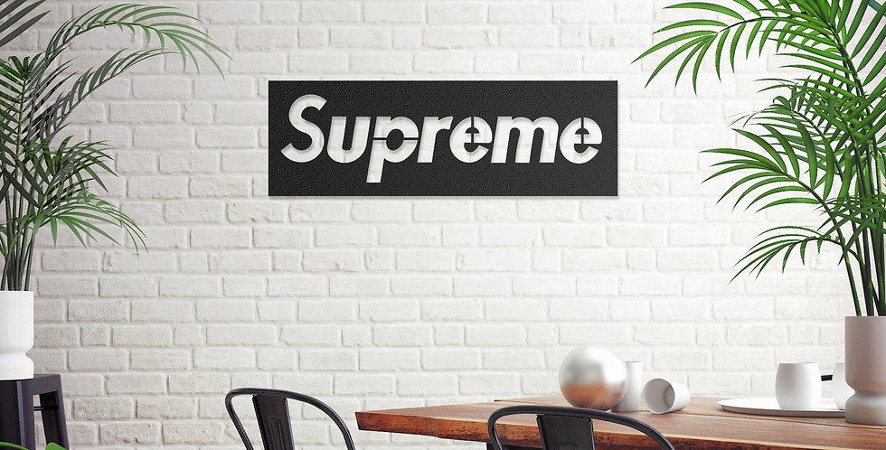 Supreme Metal Wall Art