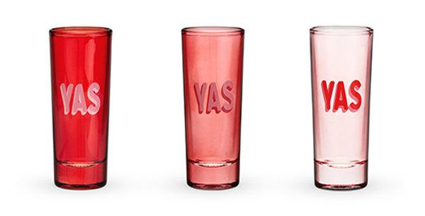 YAS Shot Glasses by Blush®