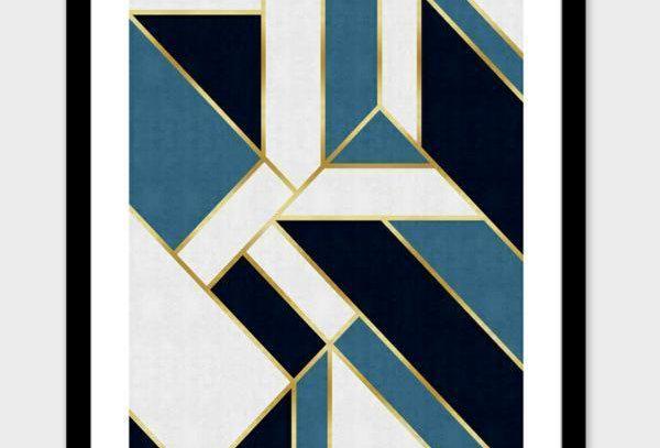 Geometric Golden V  and Frame