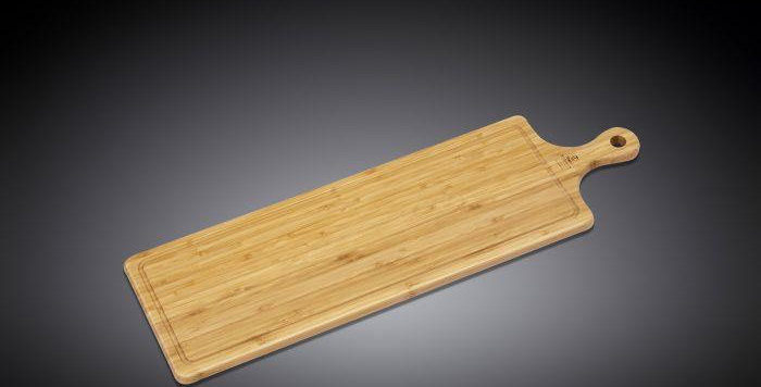 Bamboo Serving Board With Handle