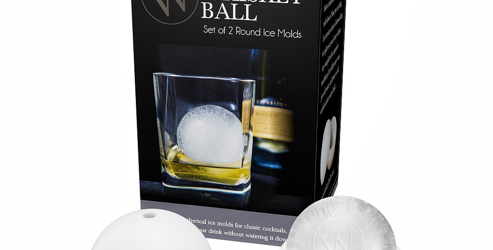 The Original Whiskey Ball (Set of 2)