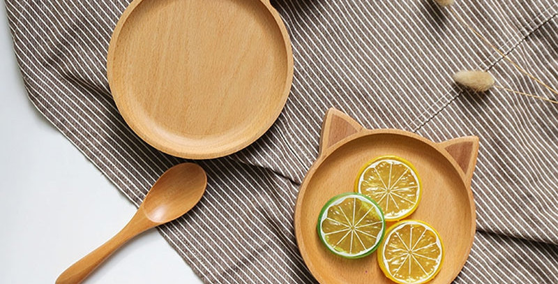 Animated Wooden Tray