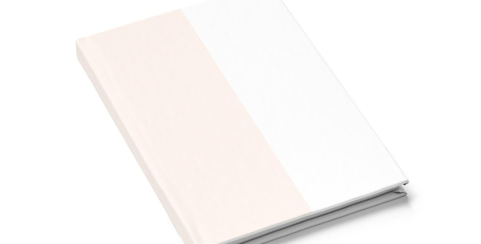 Light Beige Creamsicle Notebook