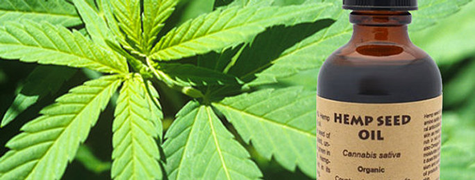 100% Pure Organic Hemp Seed Oil