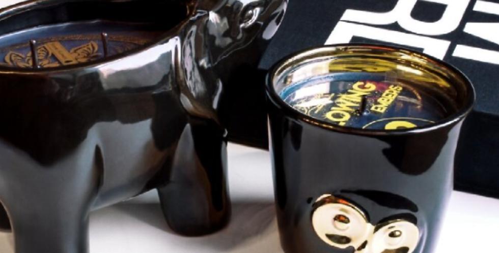 Thompson Ferrier Black Elephant Candle
