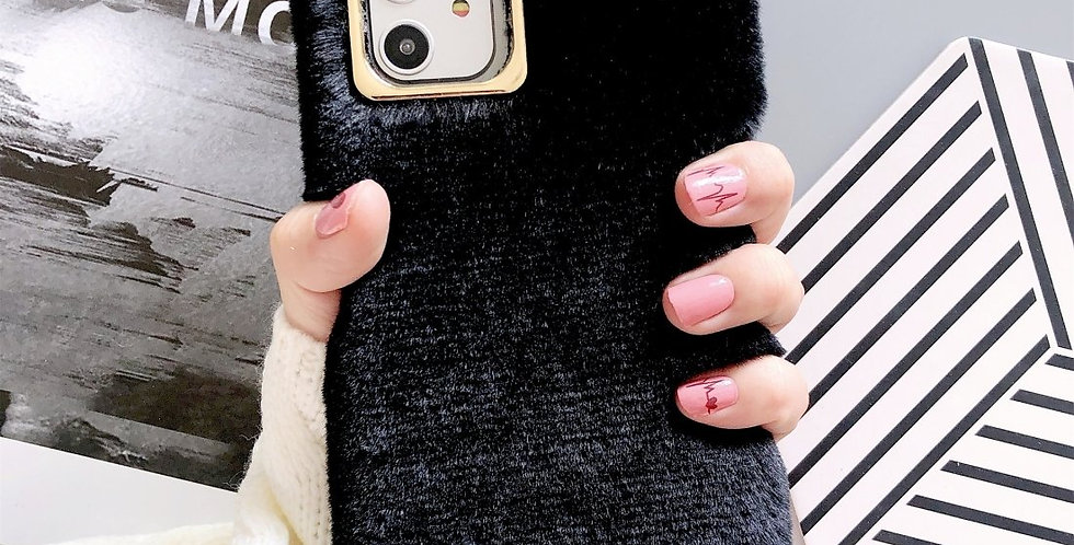 Soft Plush Case for iPhone 11 Pro