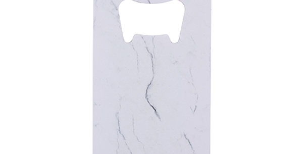 Marble Credit Card Bottle Opener by True