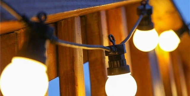 LED Outdoor Courtyard Lighting