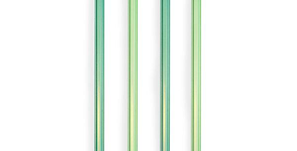 Green Glass Straws by Twine®