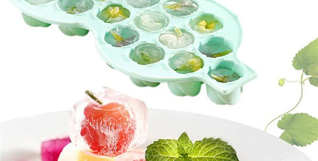 Silicone Roses Ice Cube Tray