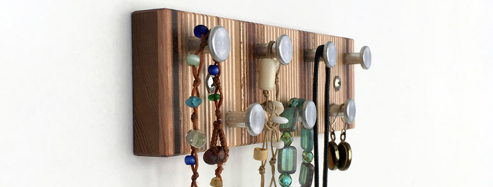 Striped Jewelry Rack