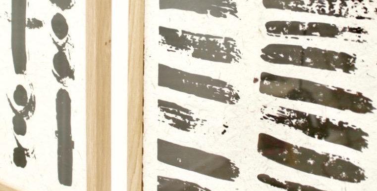 Circles + Stripes Poster - 2 sizes