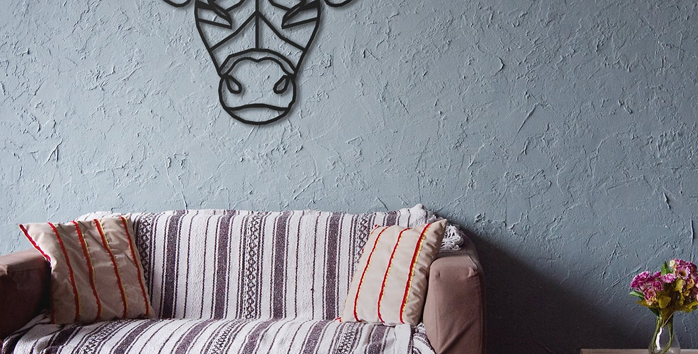 Taurus Metal Wall Art