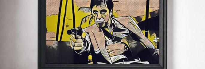 Scarface Movie Print
