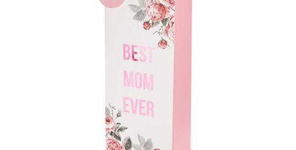 Best Mom Ever Single-Bottle Wine Bag