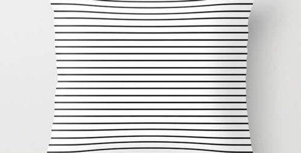 Minimal Stripes Pillow