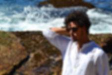 Model wearing brown carey sunglasses