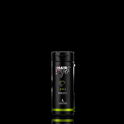 LENDAN - HAIR TO GO - MEN - 3-in-1 Shampoo Gel 100ml