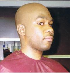 Actor with bald cap