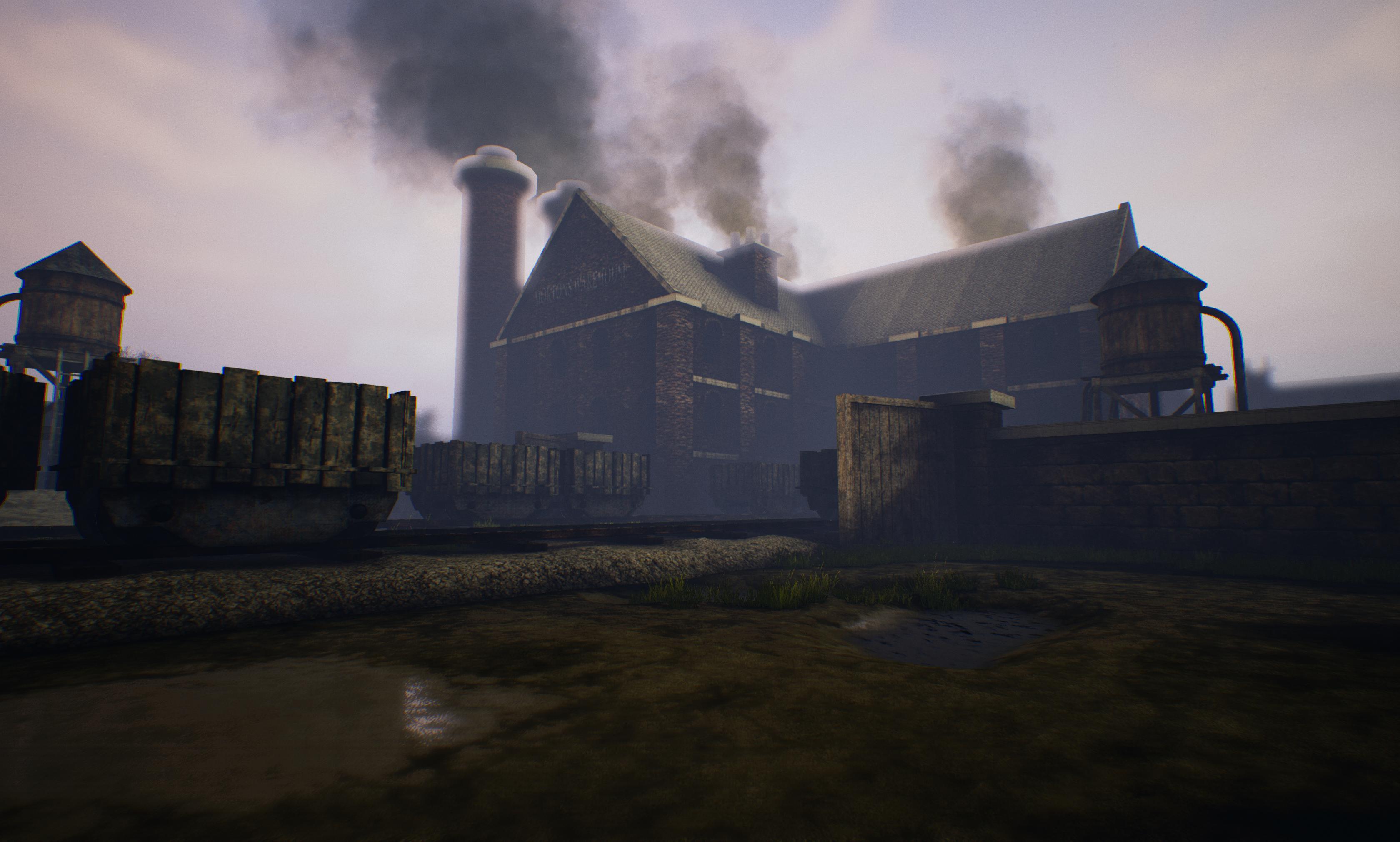 Warehouse TrainYard