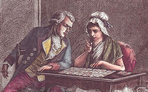 Lenormand atende Robespierre, um dos líderes da Revolução Frances (1789-1799)