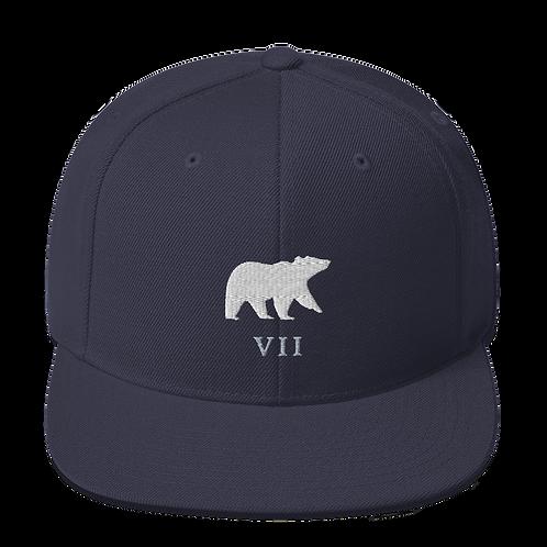 Bear VII Adjustable snap hat