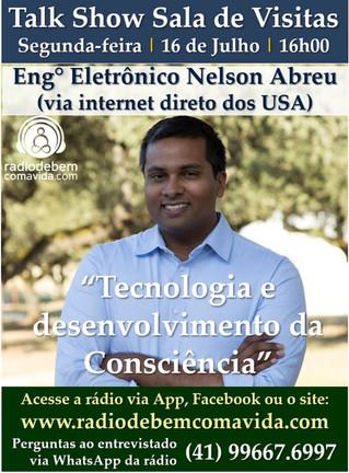 Entrevista com Nelson Abreu sobre as Conscious Tech: Tecnologias para o Bem-Estar e Desenvolvimento