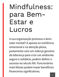 Benefits of Conscious Techat Work(English / Portuguese)