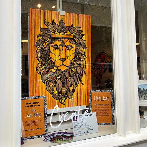 Lion King / Original Canvas (80x120cm)