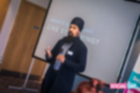 MrASingh speaking Social Day UK Birmingham