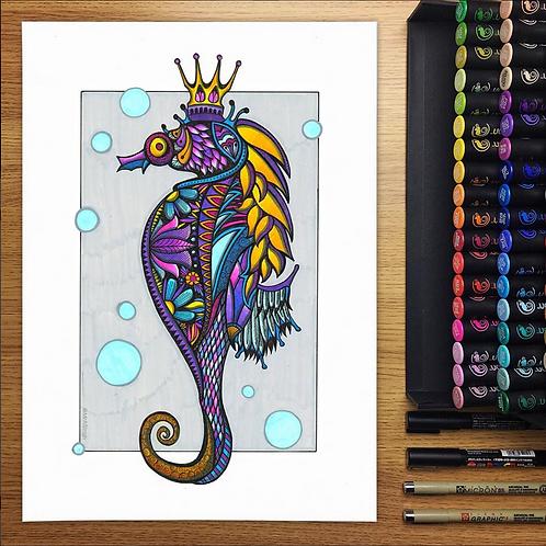 Seahorse - A3 Print