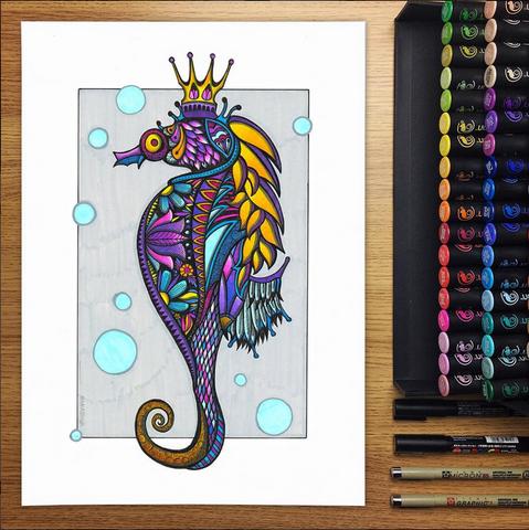 Poseidon The Seahorse