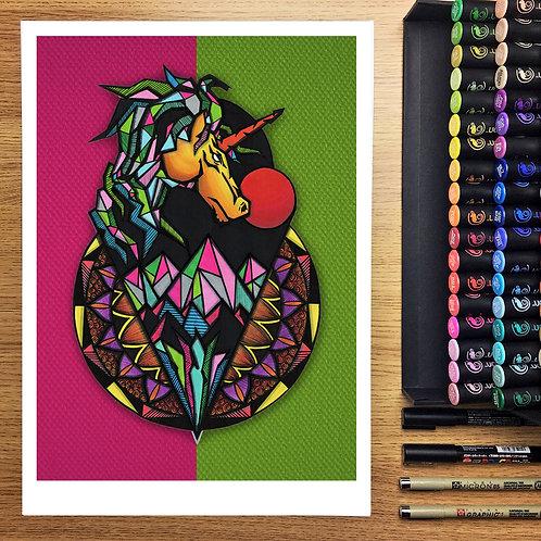 Unicorn - A3 Print