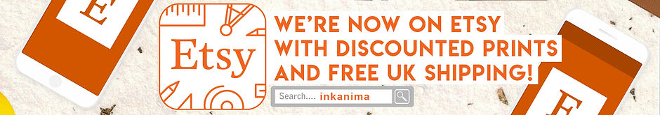 InkANIMA Etsy art shop