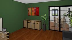 Ein Wohnzimmer